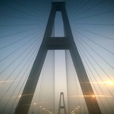 China Bridge Ningbo Shanghai